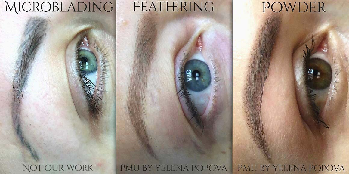 Microblading Versus Machine Eyebrow Techniques