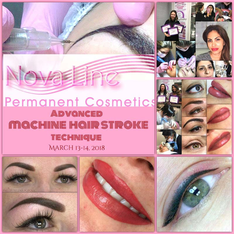 Machine Hair Stroke Course