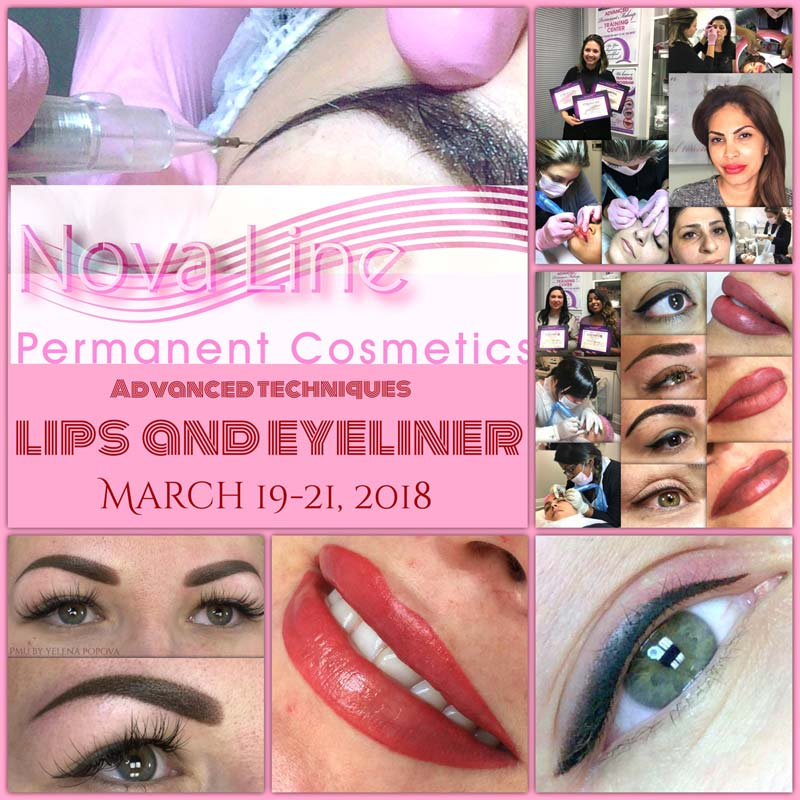 Lips and Eyeliner Course