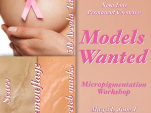 Models Wanted - Micropigmentation Workshop
